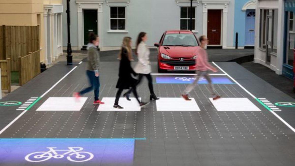 Νέα οδική επιφάνεια LED για μείωση των τροχαίων ατυχημάτων | Newsit.gr
