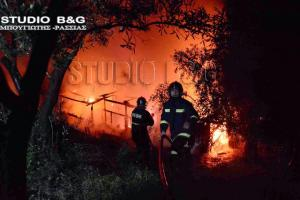 Αργολίδα: Φωτιά κατέστρεψε σπίτι – Ξεσπούν οι κάτοικοι της περιοχής μετά την κατάσβεση [vid]