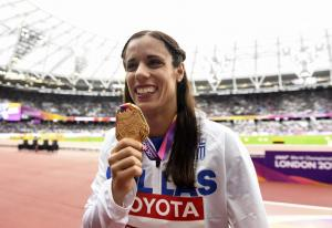 Κατερίνα Στεφανίδη: Στην τελική τετράδα για την κορυφαία αθλήτρια της χρονιάς!