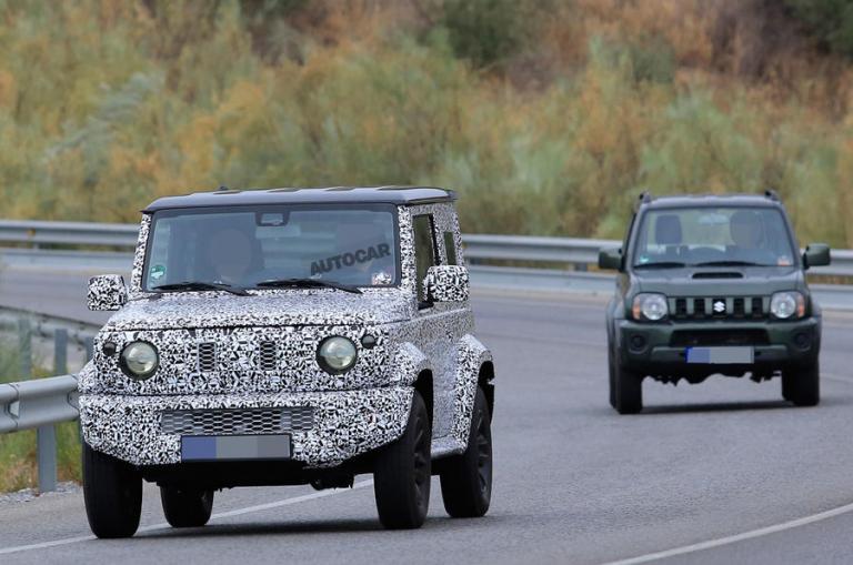 Η νέα γενιά του Jimny θα αυξήσει σημαντικά της πωλήσεις της Suzuki | Newsit.gr