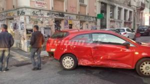 Τροχαίο με τραυματία στο κέντρο της Πάτρας