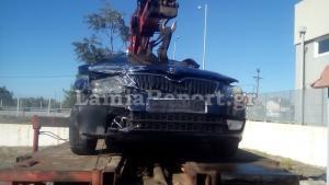 Λαμία: Στην εντατική ο Διοικητής της Τροχαίας Αυτοκινητοδρόμων μετά το τροχαίο