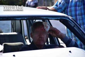 Ναύπλιο: Σοβαρό τροχαίο με δύο τραυματίες – Σοκάρουν οι εικόνες από το σημείο [pics, vid]