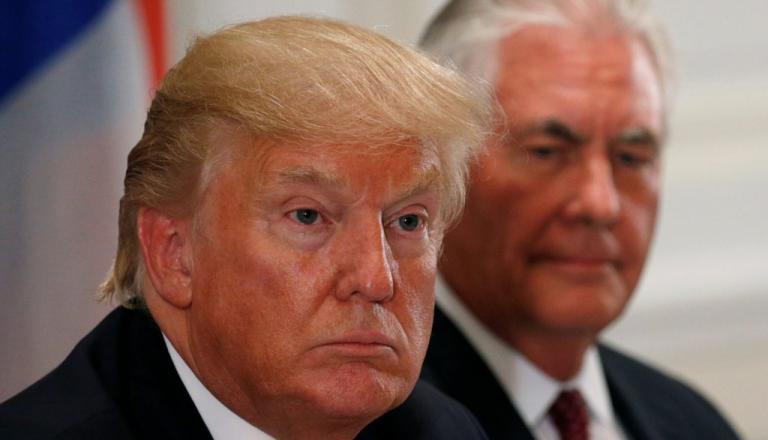 Δυσαρεστημένος με τον Τίλερσον για τη Βόρεια Κορέα ο Τραμπ | Newsit.gr