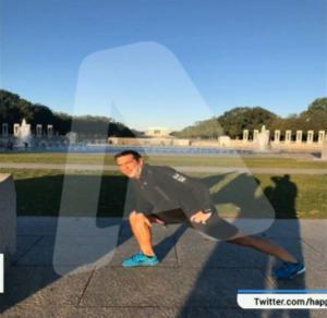 Ο Τσίπρας έκανε τζόγκινγκ στον Λευκό Οίκο! [pics, vid]