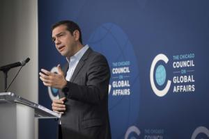 Τσίπρας στο Chicago Council on Global Affairs: Αύξηση των επενδύσεων το πρώτο τετράμηνο του 2017, ανοδικά ο δείκτης εξαγωγών