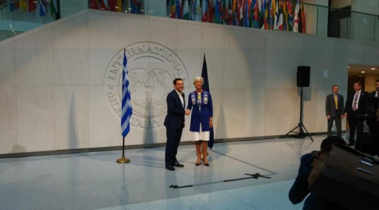 Ο Τσίπρας «πάτησε» Ουάσινγκτον και συναντά Λαγκάρντ | Newsit.gr