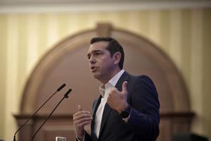 Τσίπρας από Λάρισα: Η επιτροπεία της χώρας τελειώνει – Ακόμα και το ΔΝΤ βλέπει ανάπτυξη 2,65% για το 2018