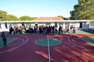 Λέσβος: Χτύπησε το κουδούνι στο ολοκαίνουριο σχολείο της σεισμόπληκτης Βρίσας