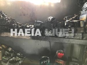 Ηλεία: Πανικός από φωτιά σε βενζινάδικο – Πλησίασε και είδε αυτές τις εικόνες [pics]