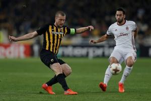"""ΑΕΚ – Μίλαν 0-0 ΤΕΛΙΚΟ: Ικανοποίησαν οι """"κιτρινόμαυροι""""! Δεύτερη """"λευκή"""" ισοπαλία με τους """"ροσονέρι"""""""