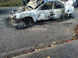 Κάτοικος Λαμίας ο άνθρωπος που βρέθηκε καμένος μέσα στο αυτοκίνητό του [vid]