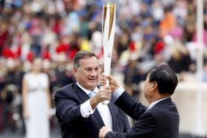 Επανεξελέγη ο Σπύρος Καπράλος στις εκλογές των Ευρωπαϊκών Ολυμπιακών Επιτροπών