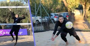 Ο Διαμαντίδης παίζει Beach Volley! Η νέα… αγάπη του «3D» [pic, vid]