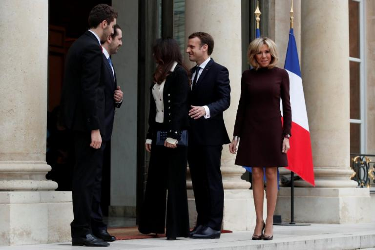 Παρίσι: Συναντήθηκαν Μακρόν – Χαρίρι! «Έλαμψε» η Μπριζίτ Τρονιέ   Newsit.gr