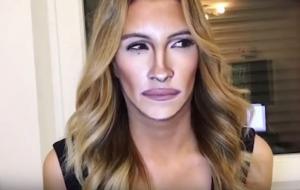 Αυτή η γυναίκα μεταμορφώνεται σε celebrity με τη βοήθεια του μακιγιάζ