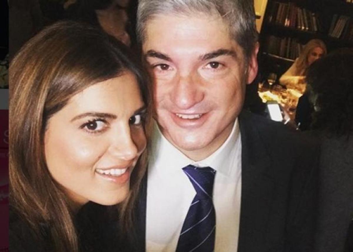Σταματίνα Τσιμτσιλή: Με πάθος στο πλευρό του συζύγου της! Η βοήθεια για την εκλογή του στον Δ.Σ.Α! [pics] | Newsit.gr