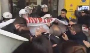 Θεσσαλονίκη: Ολοκληρώθηκε η επεισοδιακή διαμαρτυρία για τους πλειστηριασμούς