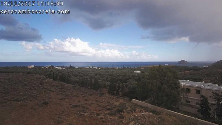 Καιρός: Ο «Ζήνωνας» έφτασε! Εντυπωσιακές εικόνες από υδροστρόβιλο στην Κρήτη – «Περίεργο» φαινόμενο στη Ζάκυνθο | Newsit.gr