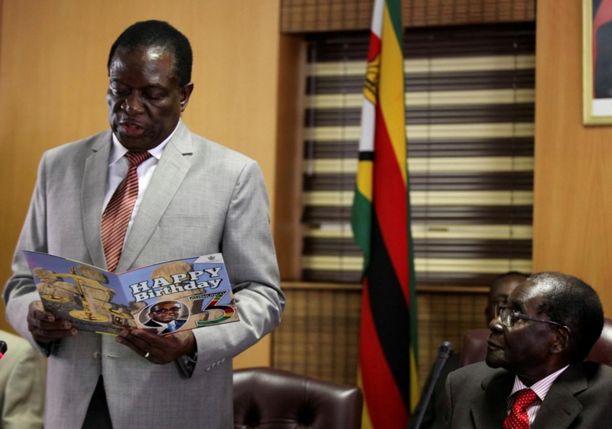 Ο πρόεδρος της Ζιμπάμπουε