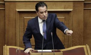 ΣΥΡΙΖΑ: «Ο φαιδρός Άδωνις Γεωργιάδης άφησε τις τηλεπωλήσεις…»