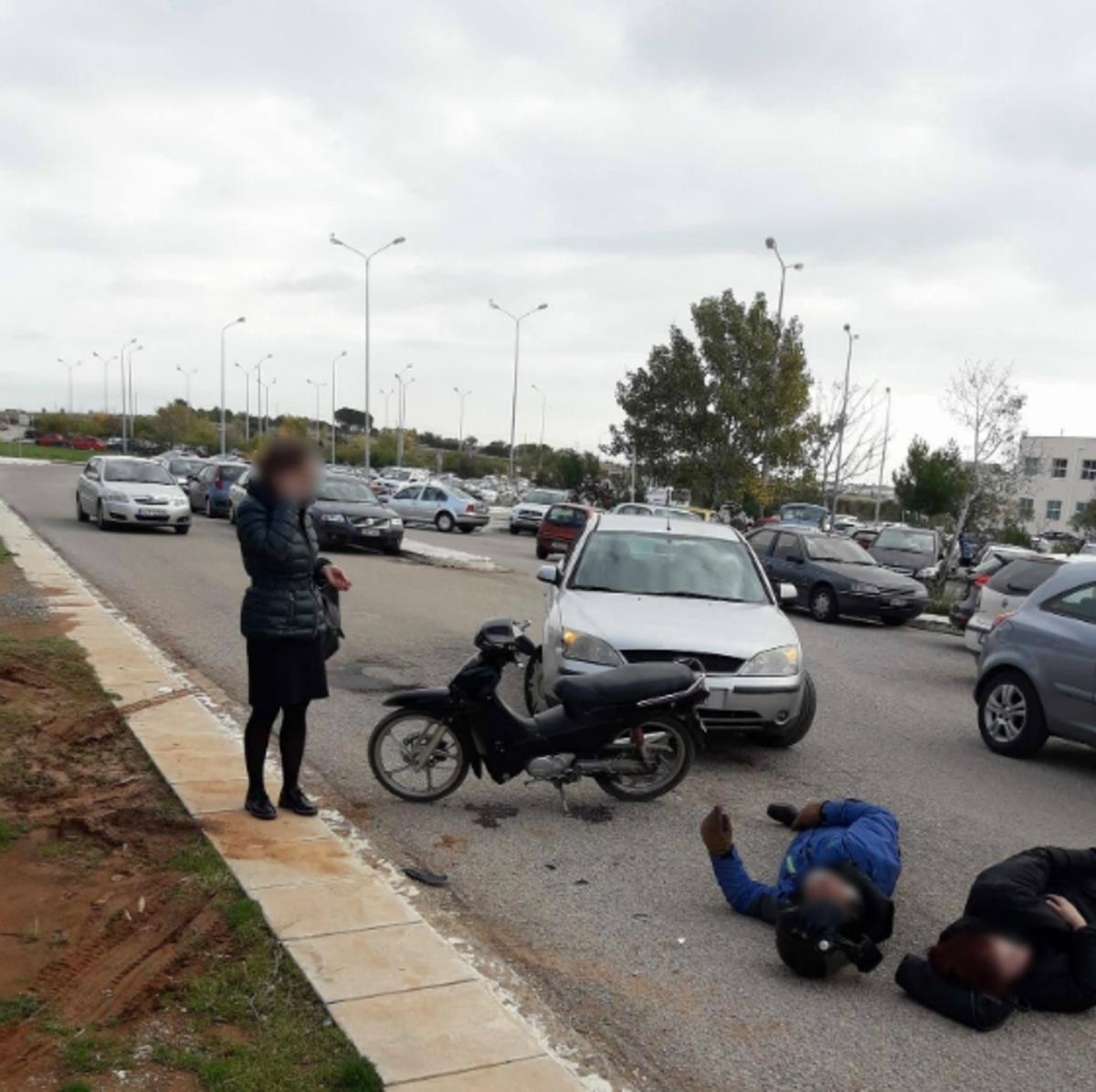 Αλεξανδρούπολη: Τράκαραν στο προαύλιο του νοσοκομείου και περίμεναν το ασθενοφόρο ένα… τέταρτο! [pic] | Newsit.gr