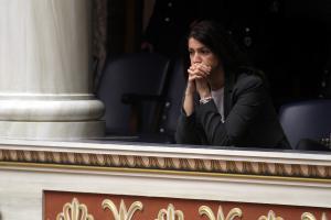 Αλεξία Μπακογιάννη: Έκλεισα την τηλεόραση να μη βλέπουν τα παιδιά μου τον Κουφοντίνα