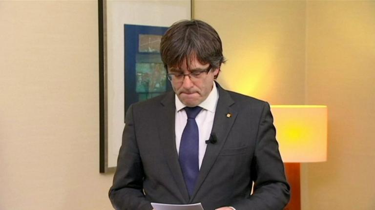 Καταλονία: «Νίπτει τας χείρας της» η Ευρώπη για τον Κάρλες Πουτζδεμόντ!