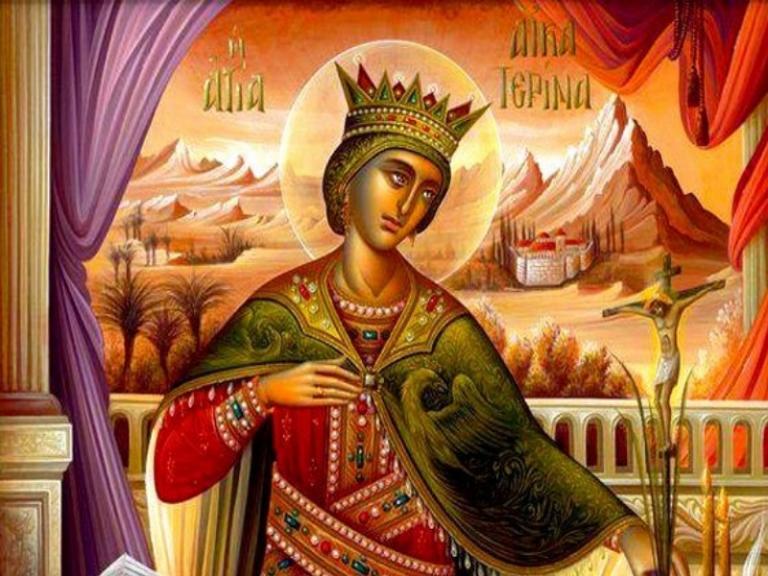 Το βασανιστήριο και οι θρύλοι της Αγίας Αικατερίνης | Newsit.gr