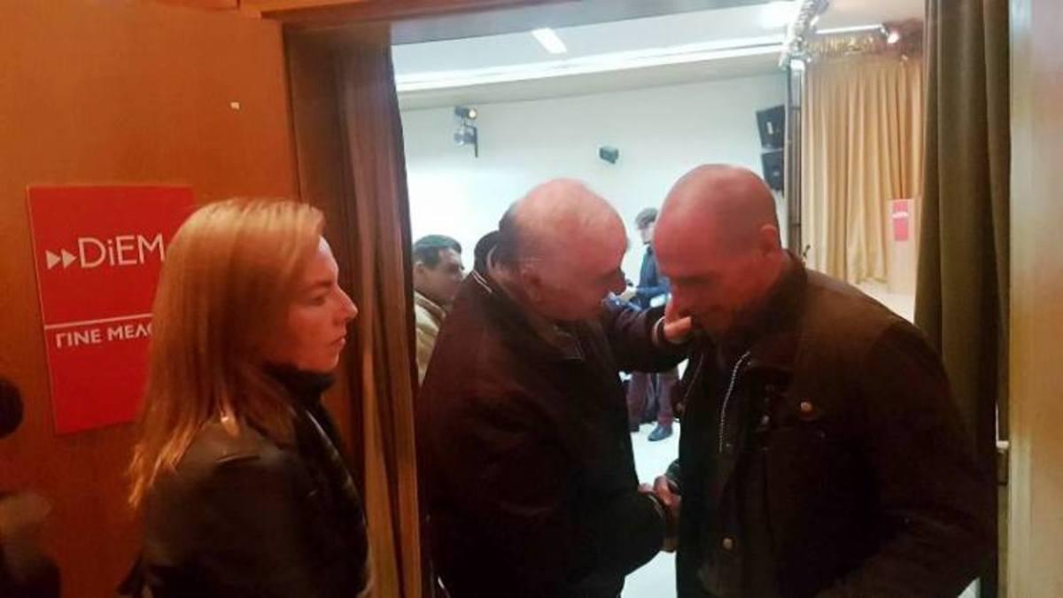 Λάρισα: Ο Βαρουφάκης, η Δανάη Στράτου και ο στόχος για τις επόμενες εκλογές [pics] | Newsit.gr