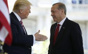 Ο Ερντογάν και ο Τραμπ συμφώνησαν να πολεμήσουν μαζί όλες τις «τρομοκρατικές οργανώσεις»