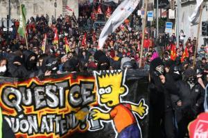 Διαδηλώσεις σε όλη την Γαλλία κατά του Μακρόν – Επεισόδια στο Παρίσι [pics]