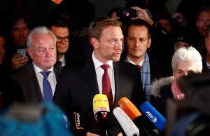 Κρίση στην Γερμανία – Αποχώρησαν οι Φιλελεύθεροι από τις συνομιλίες – Δεν σχηματίζεται κυβέρνηση