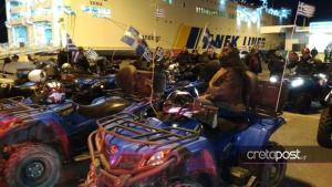 Έρχονται με τις «γουρούνες» τους από την Κρητη – Διαμαρτυρία για τον νέο ΚΟΚ [pics]