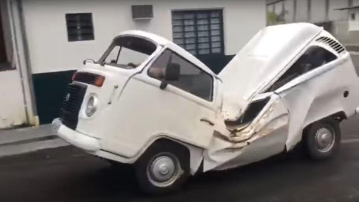 Απίθανο! Ένα VW Minibus που αρνείται να πεθάνει [vid] | Newsit.gr