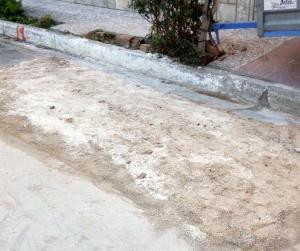 Λάρισα: Συνεννόηση… μπουζούκι – «Μόλις τελείωσε η ασφαλτόστρωση ξεκίνησε το σκάψιμο του δρόμου» [pics]