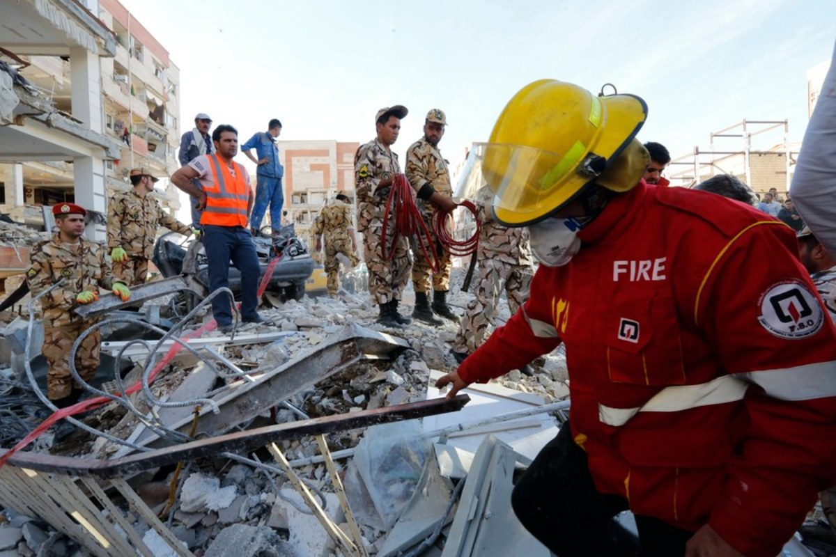 σεισμός Ιράν Ιράκ