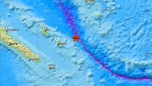 Σεισμός 7,3 Ρίχτερ στην Νέα Καληδονία – «Σηκώθηκαν» τσουνάμι στην περιοχή
