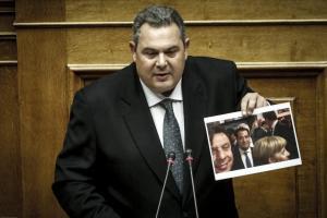 Πάνος Καμμένος: «Πολεμική» ομιλία στη Βουλή για τα όπλα!