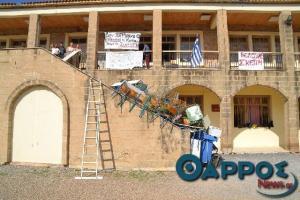 Μεσσηνία: Η κατάληψη στο σχολείο της Καρδαμύλης διχάζει – Το πρόβλημα στη στέγη, οι βροχές και οι αντιδράσεις [pics]