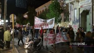 Πορεία στο Ηράκλειο για το Πολυτεχνείο [pics]