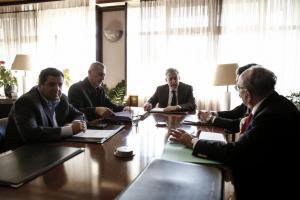 Συνάντηση Κοντονή – Μώραλη για τη μετεστέγαση των δικαστηρίων Πειραιά [pics]
