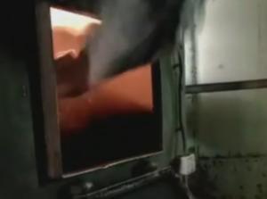Κοζάνη: Η στιγμή που παίρνουν φωτιά 656 κιλά χασίς – Η καταστροφή των ναρκωτικών στην κάμερα [vid]