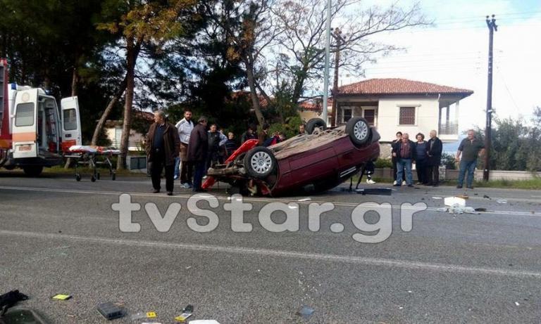 Φθιώτιδα: Τροχαίο στα Καμένα Βούρλα – Στο νοσοκομείο οδηγός | Newsit.gr