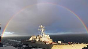 Αυτό είναι το αντιτορπιλικό των ΗΠΑ που έδεσε στο λιμάνι της Λάρνακας [pics]