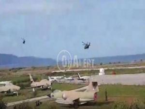 Εκκένωση άμαχου πληθυσμού απο το αεροδρόμιο του Μάλεμε [vid]