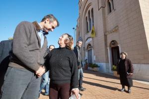 Περιοδεία Μητσοτάκη στην Εύβοια