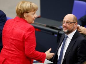 Γερμανία: Επίσημο κάλεσμα Μέρκελ σε Σουλτς για σχηματισμό κυβέρνησης