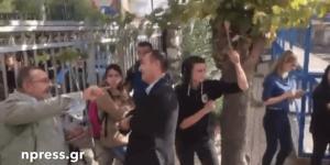 Ναύπακτος: Χαμός σε λύκειο – Μαθητές κλείδωσαν τον διευθυντή του σχολείου [vid]