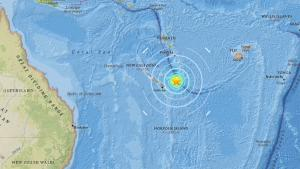 σεισμός Νέα Καληδονία τσουνάμι